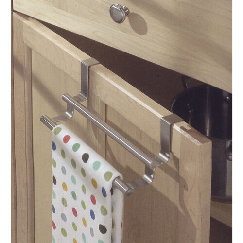 Double Bar Towel Rack For Kitchen Cabinet