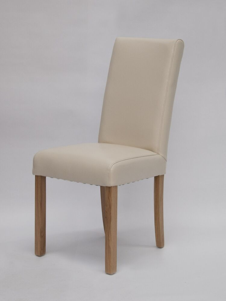 Darota solid oak furniture set of six cream leather dining  : s l1000 from www.ebay.co.uk size 750 x 1000 jpeg 25kB