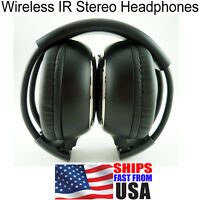 1 NEW Nissan Murano Quest Wireless DVD Car Headphones Fast Free Shipping!