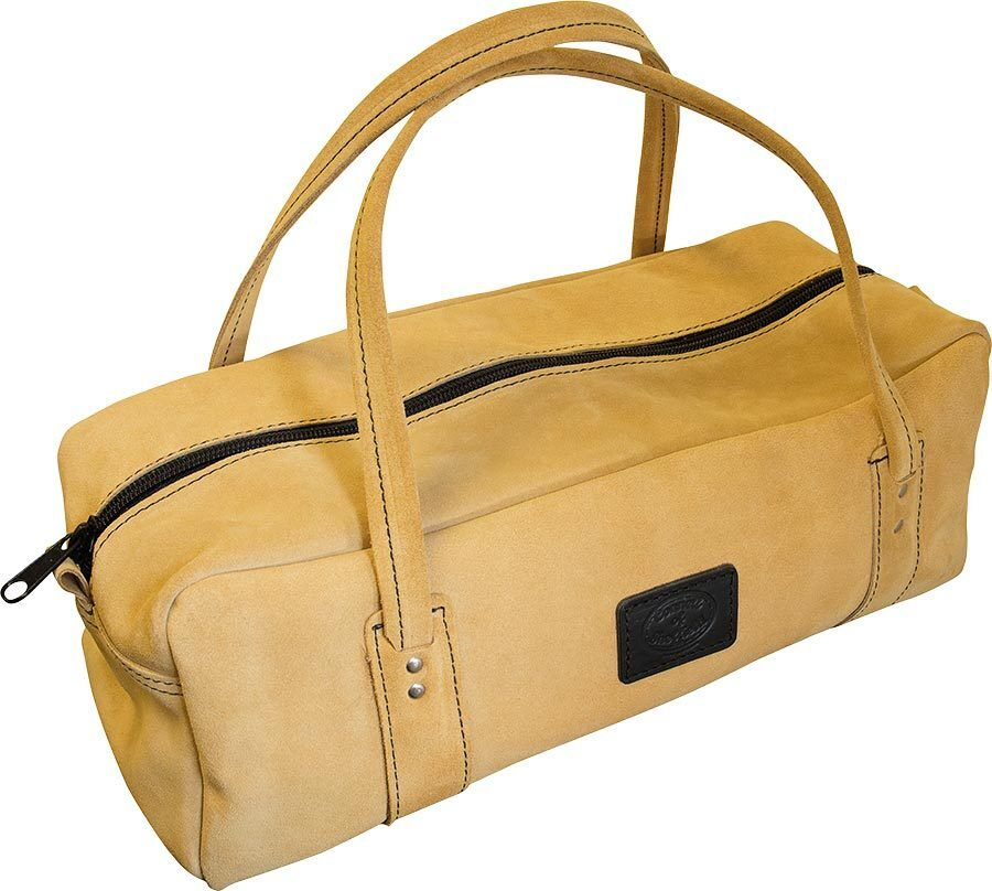 """Suede Leather Carpenters Carpentry Tool Bag 18"""" Holdall - Connell Of Sheffield eBay"""