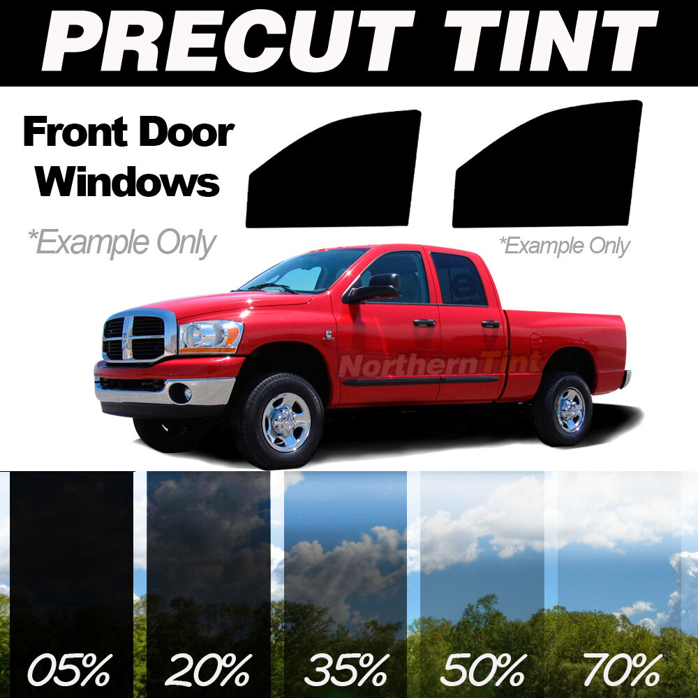 Precut window tint jeep liberty 02 07 front sides kit for Home front door tint