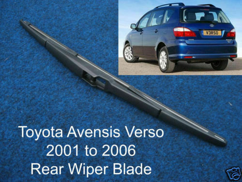 new rear wiper blade toyota avensis verso 2001 to 2006 ebay. Black Bedroom Furniture Sets. Home Design Ideas