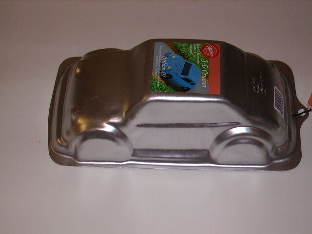car cake pan new wilton 3 d 3d stand up cruiser antique car birthday 2443