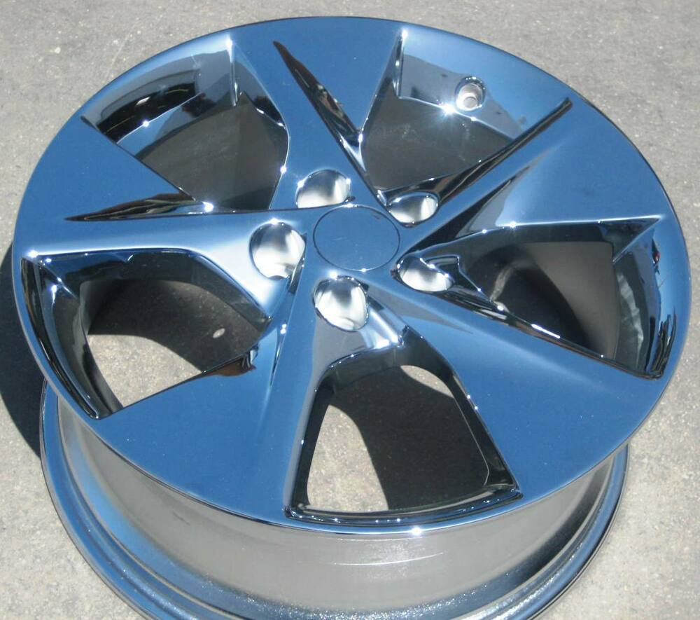 "2012 Toyota Camry Factory Rims: SET OF 4 18"" FACTORY TOYOTA CAMRY OEM CHROME WHEELS RIMS"