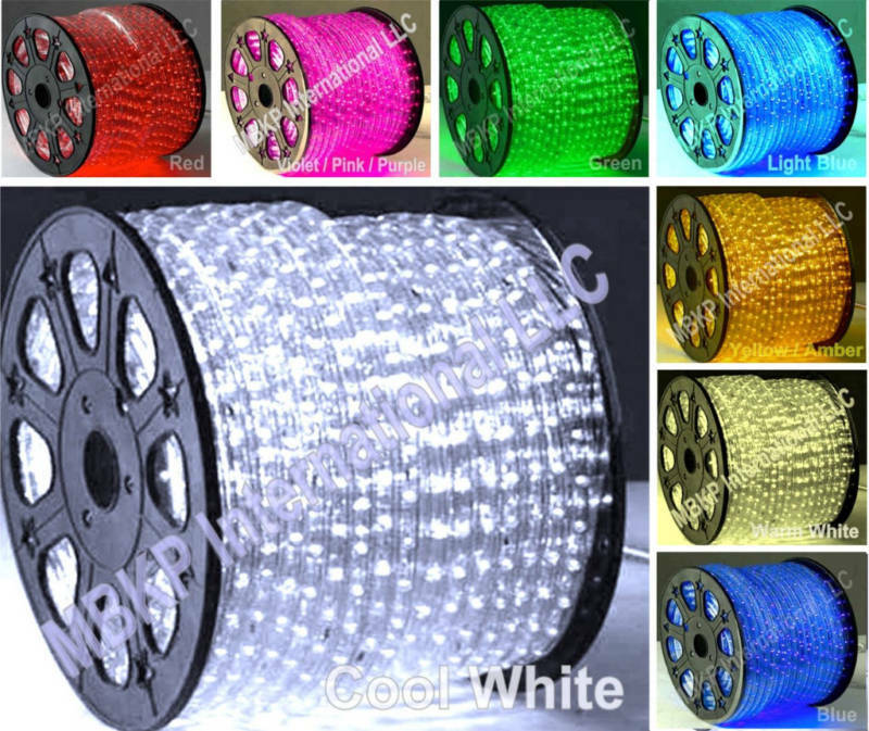 Led String Lights For Cars : 12v COOL WHITE LED Rope Lights Home Lighting Boat Car Truck Home Indoor Outdoor eBay