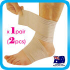 1 Pair ANKLE Wrap Elastic Protection Brace Guard Sports Support Band Gym 0748