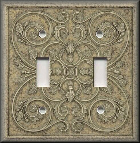 Light switch plate cover home decor french pattern for Home decorations on ebay