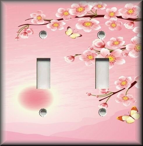 Light Switch Plate Cover Asian Home Decor Cherry