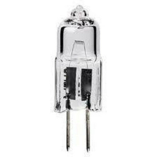 new major brand 20 watt halogen 12v volt jc g4 base light bulb 20w bi pin ebay. Black Bedroom Furniture Sets. Home Design Ideas