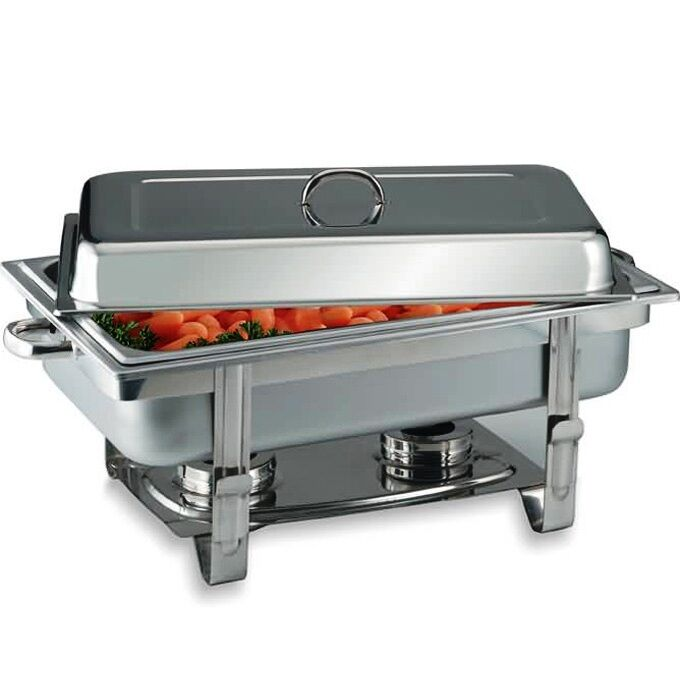 Food Tray Warmer ~ Commercial stainless steel chafing dish server buffet