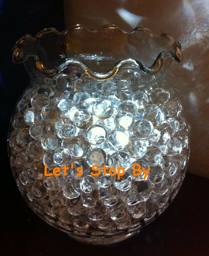 100g Clear Water Bead + 12 LED submersible Wedding Home ...