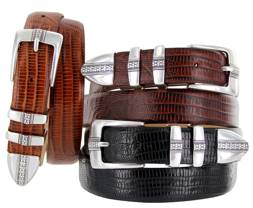 brandon s italian leather designer dress belt 1 1 8
