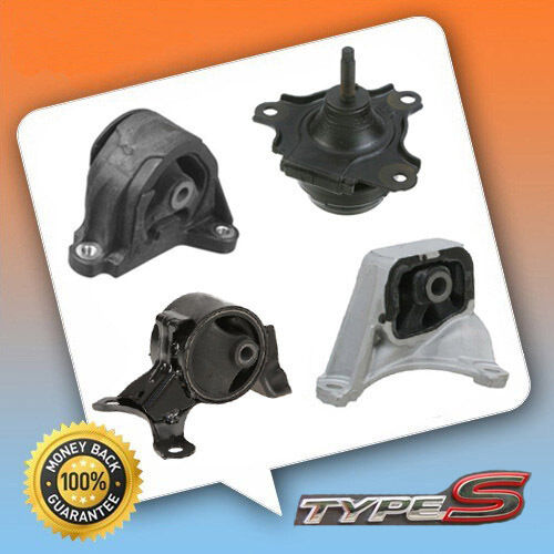 02-06 Acura RSX Type-S Trans Engine Motor Mount Set MT