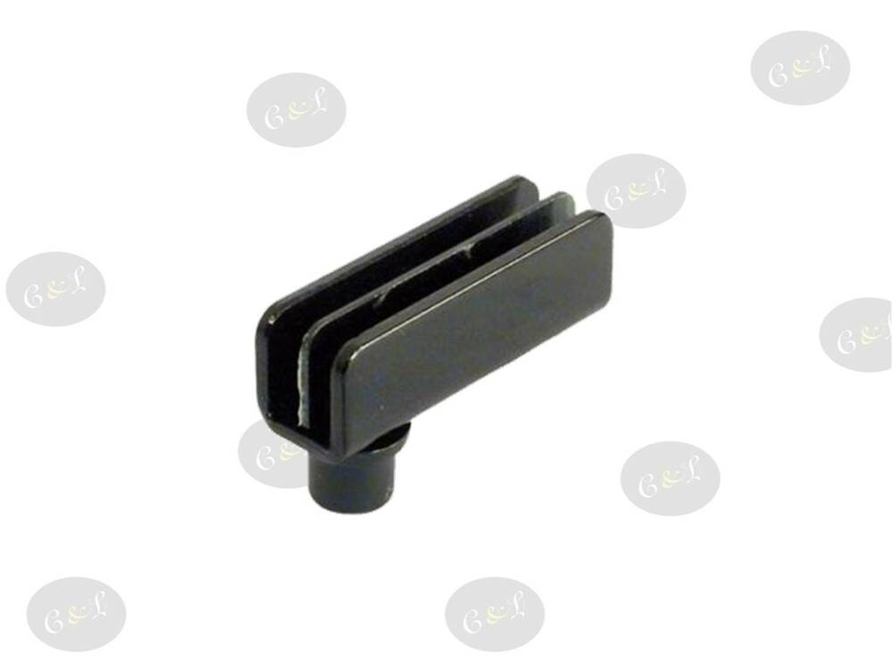 2 glass door pivot hinges 110 black 2 1 pair for for Glass cabinet hinges