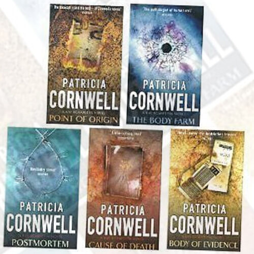 Patricia Cornwell Bestseller Collection 5 - Books Pack