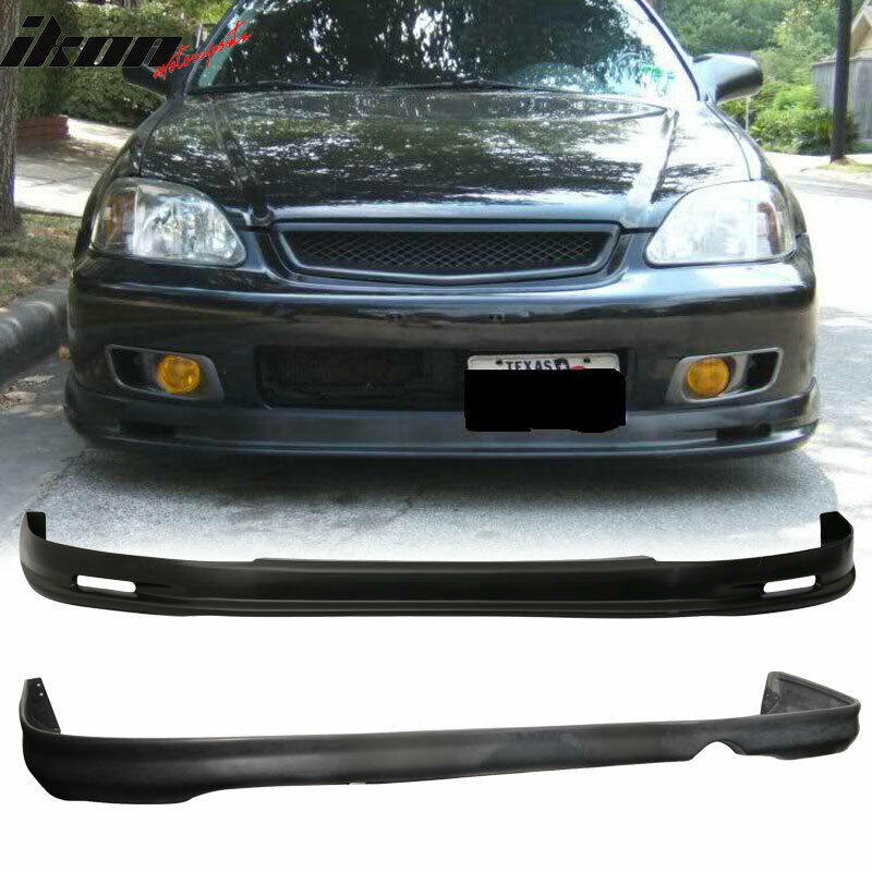 honda civic ek 99 00 2 4dr mg front rear bumper lip. Black Bedroom Furniture Sets. Home Design Ideas