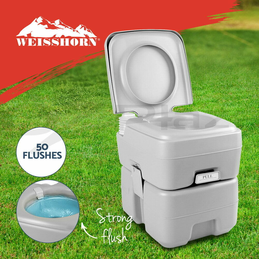 20L Outdoor Portable Toilet Camping Potty Caravan Travel Camp ...