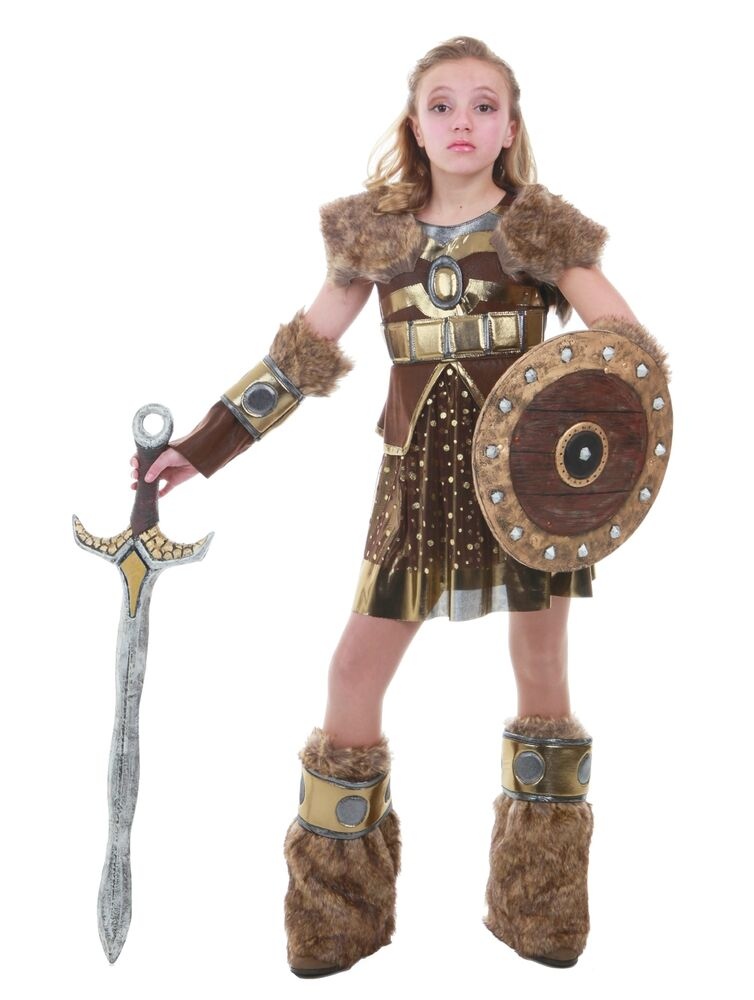 Viking Girl Costume How to Train Your Dragon Astrid 5 6 7 8 9 10 12 14 16 Tween | eBay