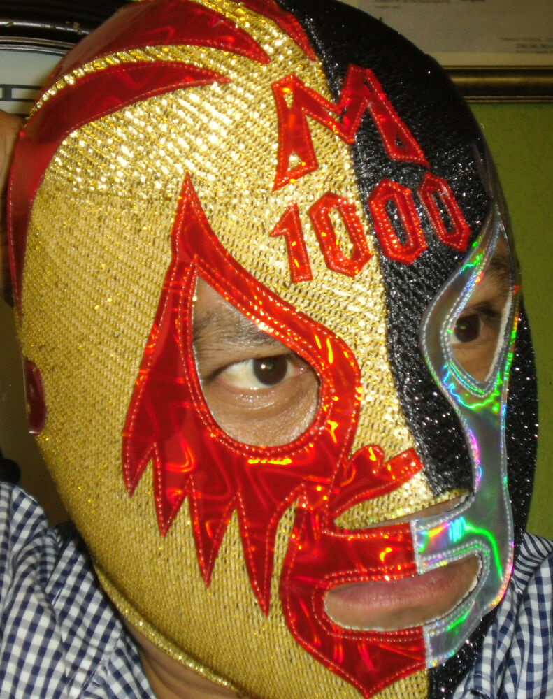 Masks of mil mascaras deluxe classic mask mil mascaras