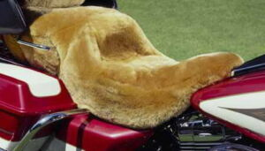 Sheepskin Motorcycle Seat Cover