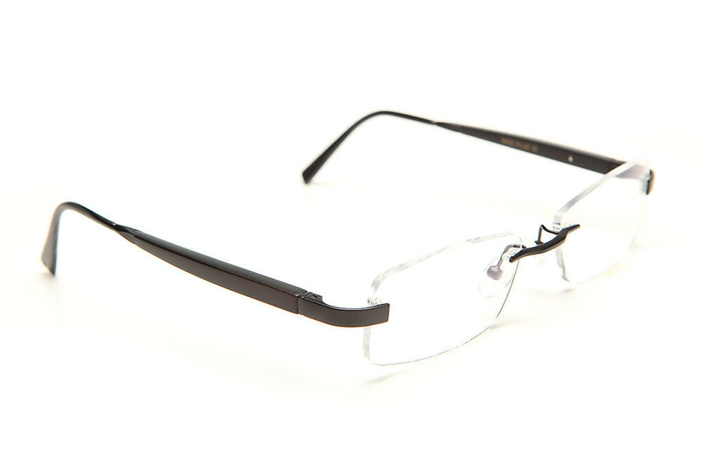 Rimless Gold Eyeglass Frames : GOLD AND WOOD RIMLESS EYEGLASSES GLASSES SUNGLASSES L05.32 ...