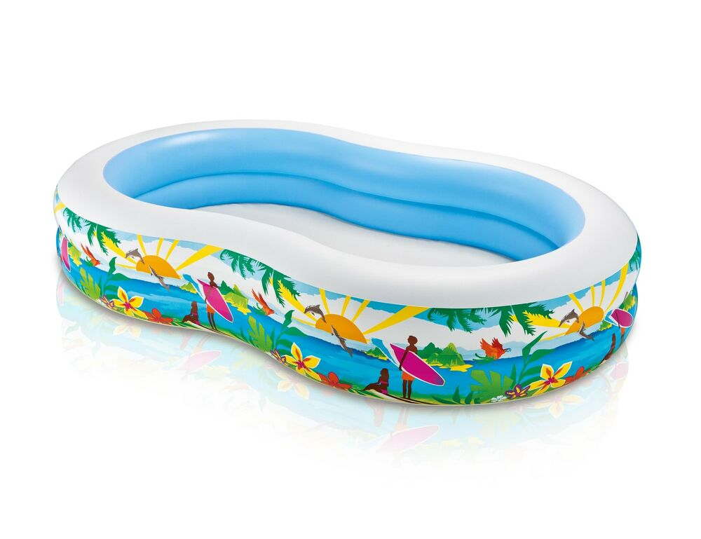 Intex Swim Center Inflatable Paradise Seaside Kids