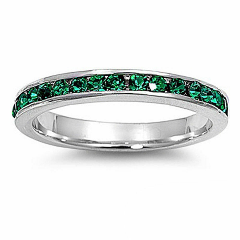 Emerald & Cz Stackable Eternity Wedding Anniversary Band. Fashion Bracelet. Diamond Cut Gold Bracelet. Sterling Silver Oval Bangle. Diamonds Engagement Rings. Gold Band Diamond Wedding Rings. Initial Stud Earrings. Gold Anklets Online. Customized Lockets