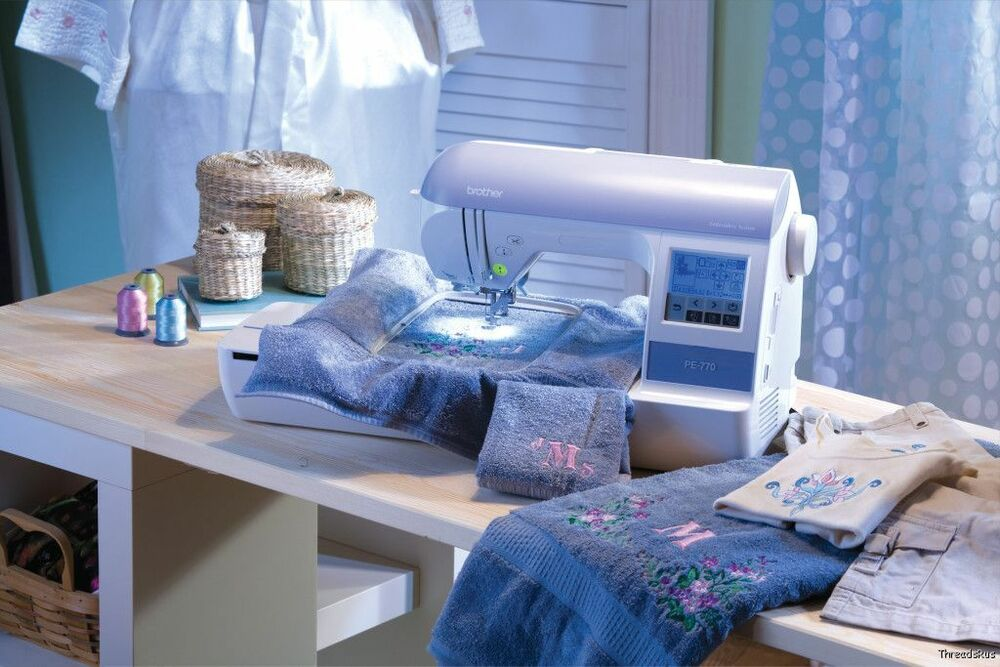 pe 770 embroidery machine reviews