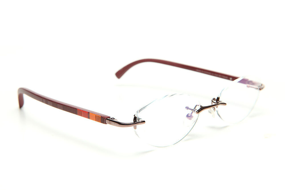 Rimless Glasses Wood Frame : GOLD AND WOOD RIMLESS EYEGLASSES GLASSES SUNGLASSES R20.28 ...