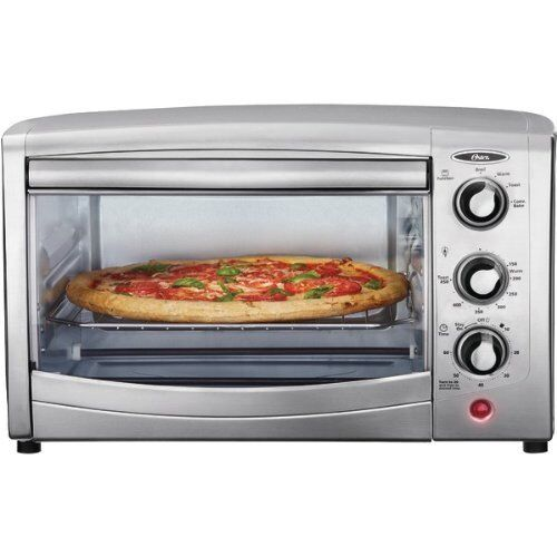 oster tssttvca01 6 slice convection toaster oven stainless steel ebay. Black Bedroom Furniture Sets. Home Design Ideas