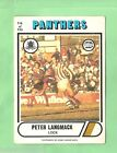 1976 SCANLENS RUGBY LEAGUE CARD #116. PETER LANGMACK, PENRITH PANTHERS