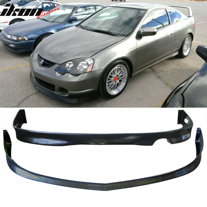 02-04 Acura RSX DC5 Poly-Urethane Front Bumper Lip+ Rear