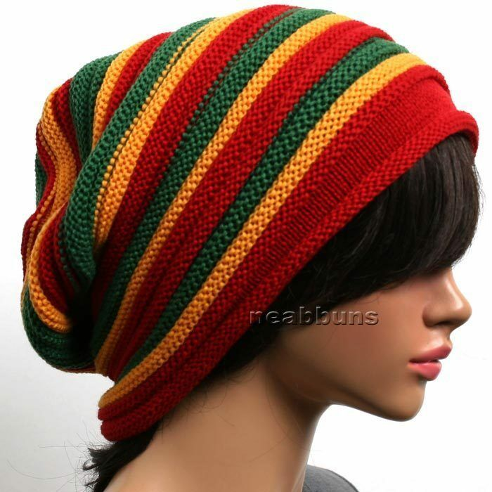 Best Slouchy Baggy Beanie Unisex Men Women Top Rasta Hats