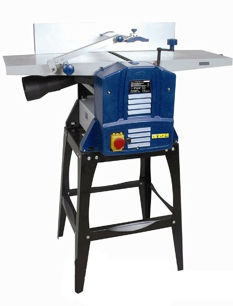 "FOX F22-564-250 Woodworking 10"" x 5"" Planer Thicknesser Timber/Wood ..."