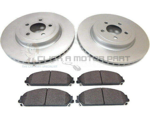 chrysler 300 c 300c 5 7 2005 2007 front 2 brake discs pads set new ebay. Black Bedroom Furniture Sets. Home Design Ideas
