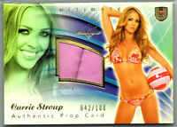 2009 BENCHWARMER ULTIMATE; CARRIE STROUP PROP CARD 42/100