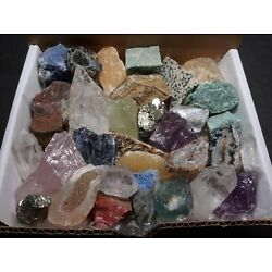 Kyпить The Original Crafters Collection 1 Lb Mix Natural Gems Crystals Minerals на еВаy.соm