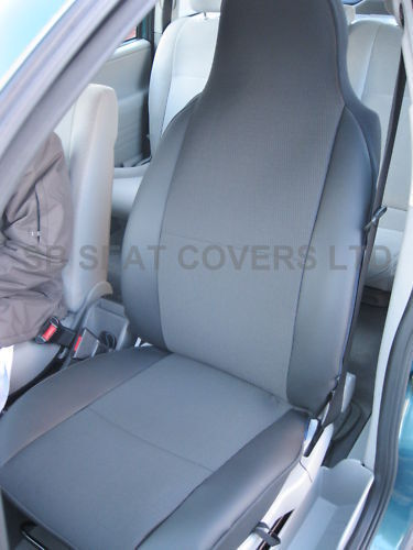 bmw z3 z4 car seat covers anthracite leatherette csc004 2 fronts ebay. Black Bedroom Furniture Sets. Home Design Ideas