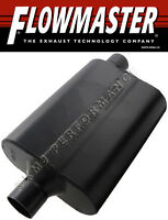 "Flowmaster 942447 Super 44 Muffler 2.25"" Center Inlet/Offset Outlet"