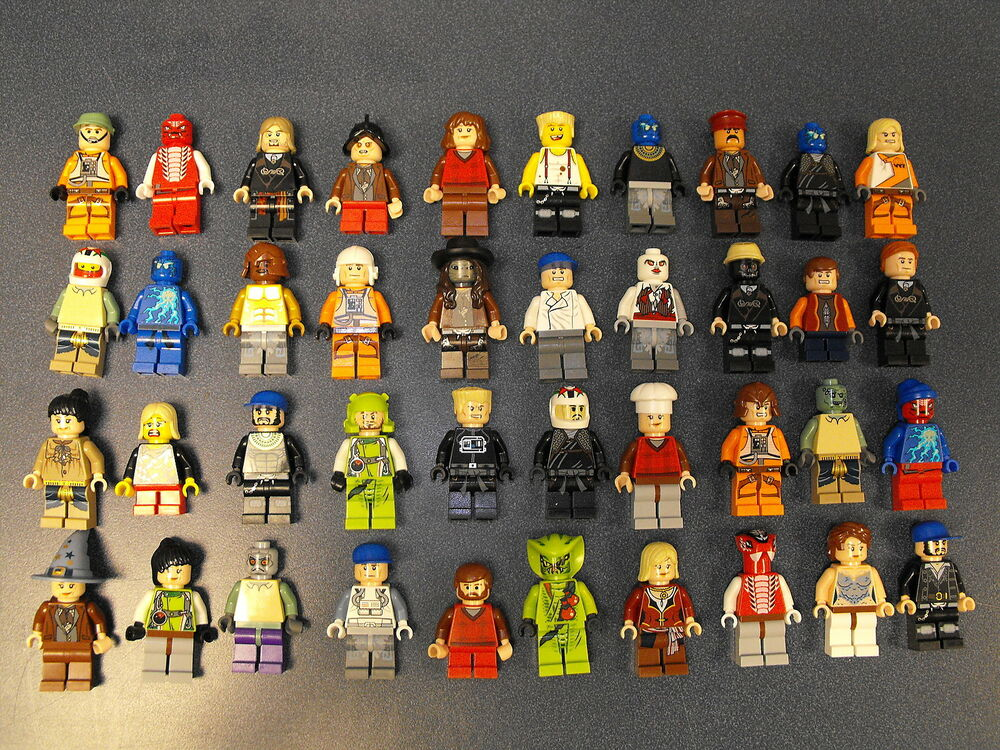 Lego Lot Of 10 Minifigures Random Lot Star Wars, Ninjago ...