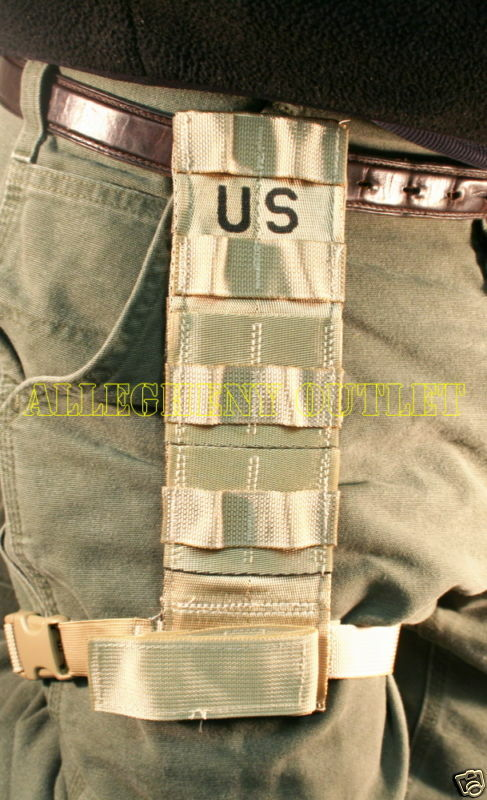 Drop Leg Holster Extender Molle Thigh Panel Tan Us Army