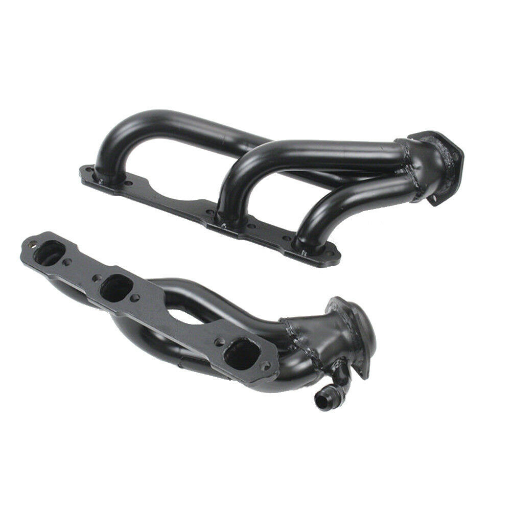 Pace Setter 70-1321 Painted Black Shorty Header 96-99