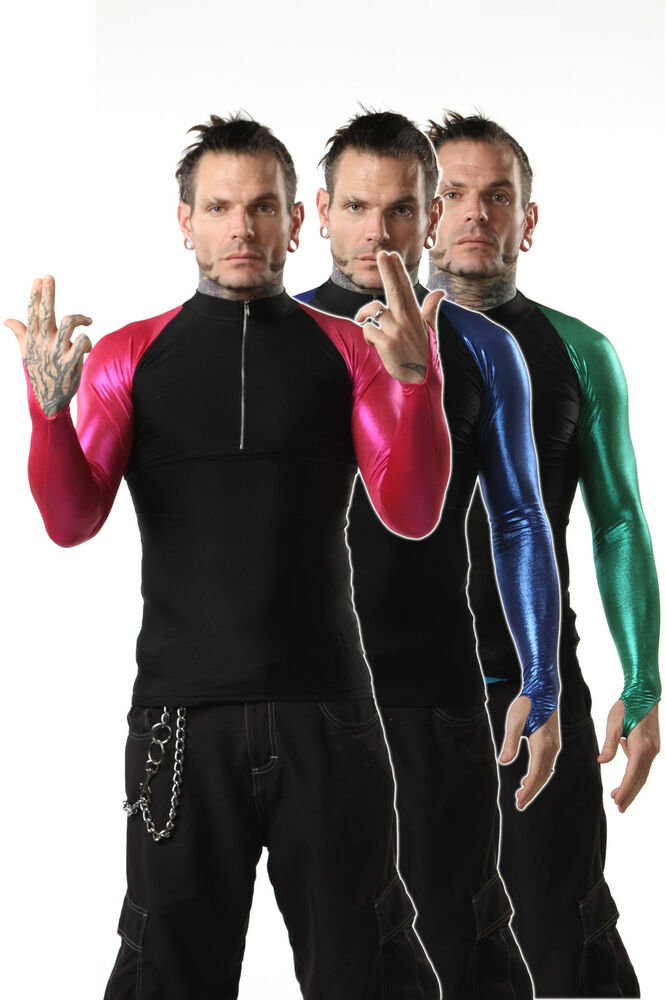 Official Tna Impact Wrestling Jeff Hardy Spandex Zip Up