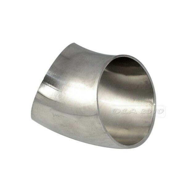 51 Od51mm 2 Sanitary Weld Elbow Pipe Fitting 45 Degree