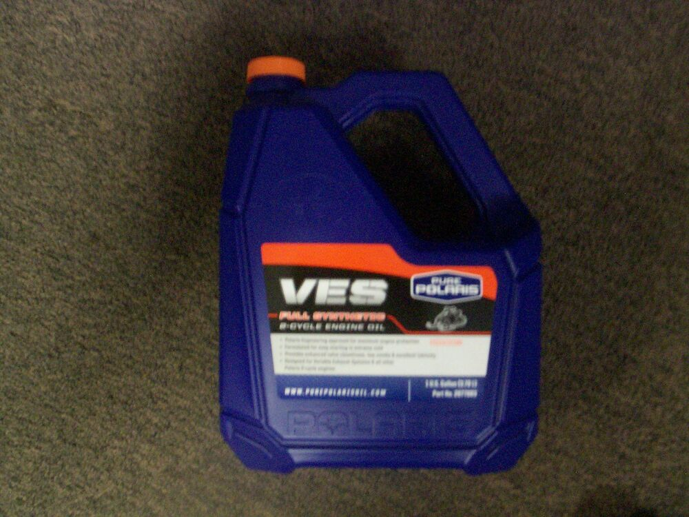 Pure polaris ves gold plus synthetic 2 cycle oil 1 gallon for Pure synthetic motor oil