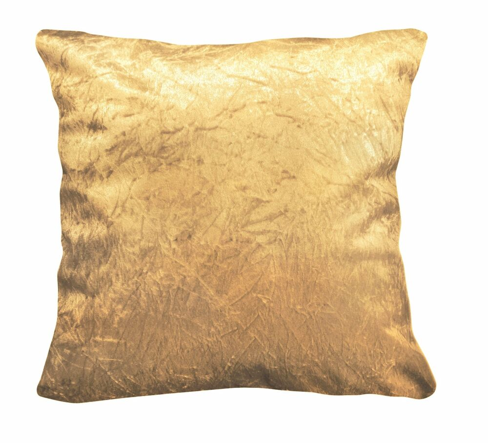 Mn116a Gold Crushed Velvet Style Cushion CoverPillow Case  : s l1000 from www.ebay.com size 1000 x 909 jpeg 152kB