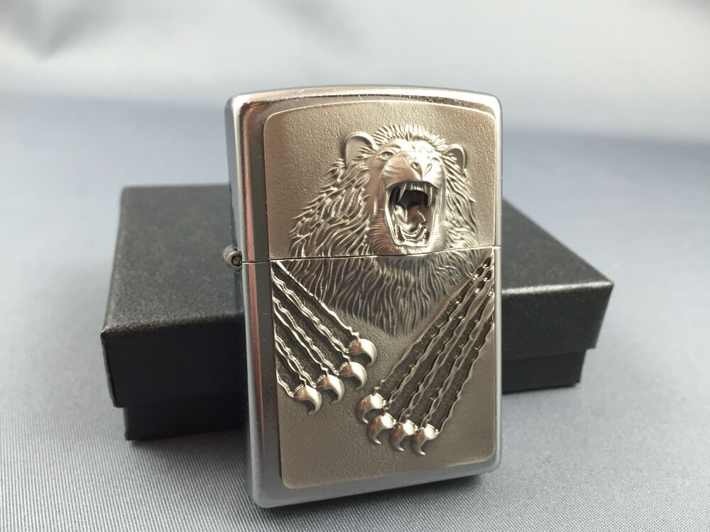 ZIPPO Bear Beast - powerful Zippo lighter - rare and mint emblem edition | eBay