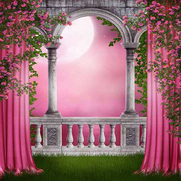 Romantic 10 X10 Cp Backdrop Computer Painted Scenic