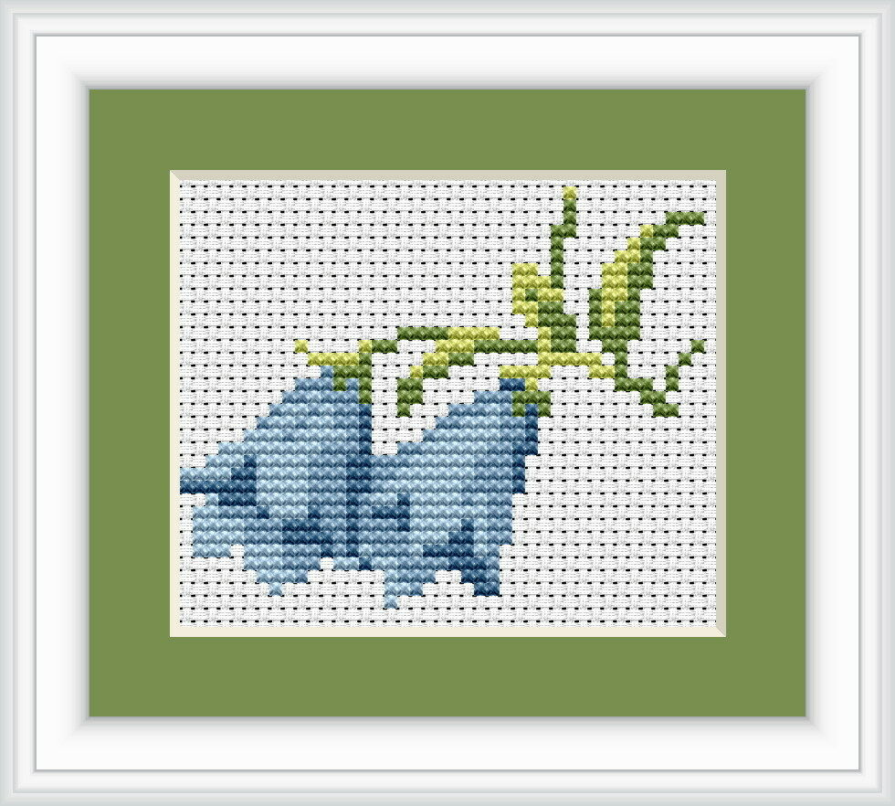 Bluebells cross stitch kit luca s beginner cm