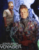 STAR TREK:ETHAN PHILLIPS AUTOGRAPH PHOTO #2 FROM CREATION ENT